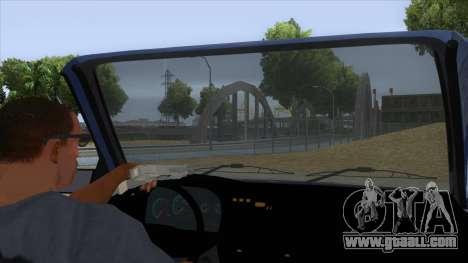 Dacia SuperNova for GTA San Andreas inner view