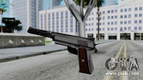 Vice City Beta Silver Colt 1911 for GTA San Andreas third screenshot