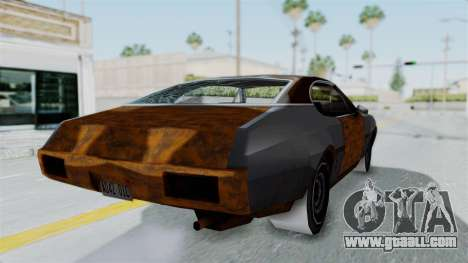 Updated-Clover for GTA San Andreas right view