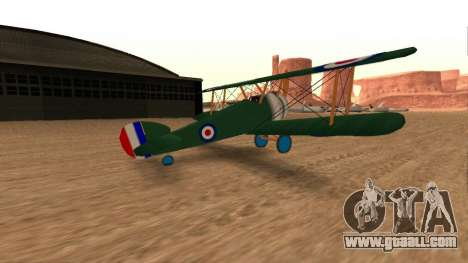 Sopwith Camel for GTA San Andreas left view