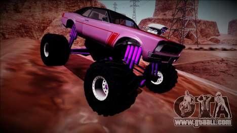 GTA 5 Declasse Tampa Monster Truck for GTA San Andreas side view