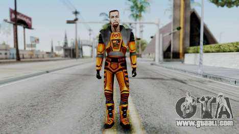 Gordon Freeman HEV SUIT from Half Life for GTA San Andreas second screenshot