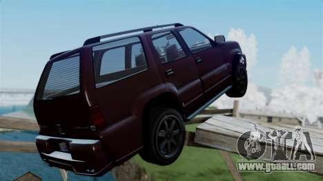 GTA 5 Albany Cavalcade v1 for GTA San Andreas left view