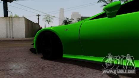 Lexus LFA for GTA San Andreas right view
