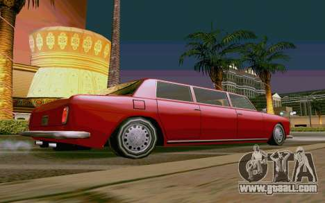 Stafford Limousine v2.0 for GTA San Andreas left view