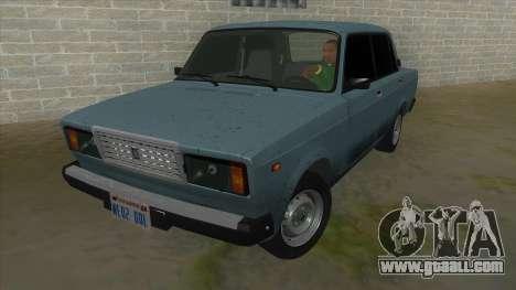 VAZ 2107 v1 for GTA San Andreas