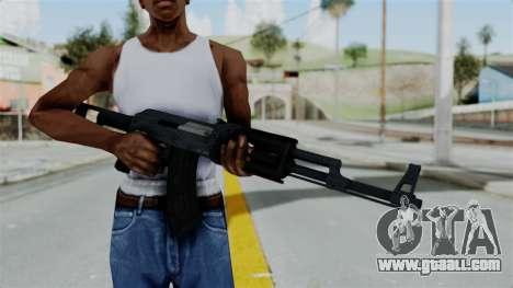 GTA 5 Assault Rifle for GTA San Andreas