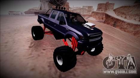 GTA 5 Vapid Sadler Monster Truck for GTA San Andreas side view
