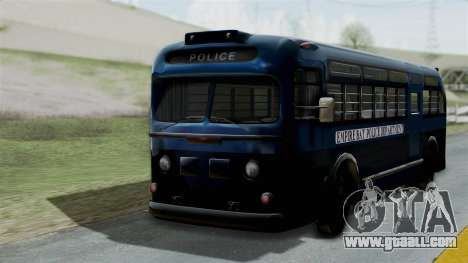 Parry Bus Police Bus 1949 - 1953 Mafia 2 for GTA San Andreas