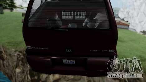 GTA 5 Albany Cavalcade v1 for GTA San Andreas right view