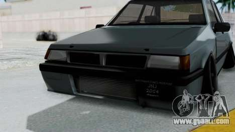 Proton Iswara Stance Build for GTA San Andreas side view