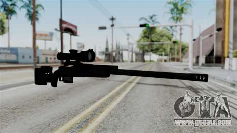 TAC-300 Sniper Rifle v2 for GTA San Andreas