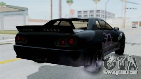 Hotring Elegy for GTA San Andreas left view