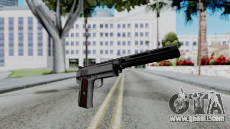 Vice City Beta Silver Colt 1911 for GTA San Andreas second screenshot