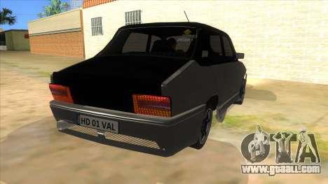 Dacia 1310 Tunata for GTA San Andreas back view