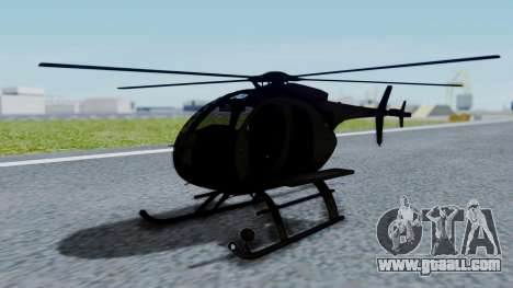 MH-9 Hummingbird Recon for GTA San Andreas