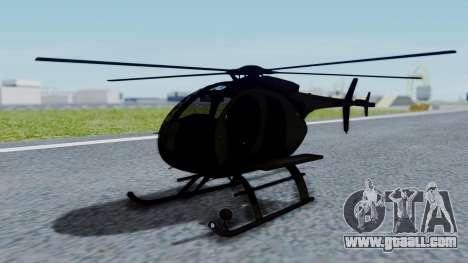 MH-9 Hummingbird Recon for GTA San Andreas