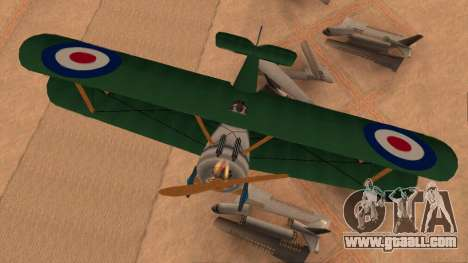 Sopwith Camel for GTA San Andreas