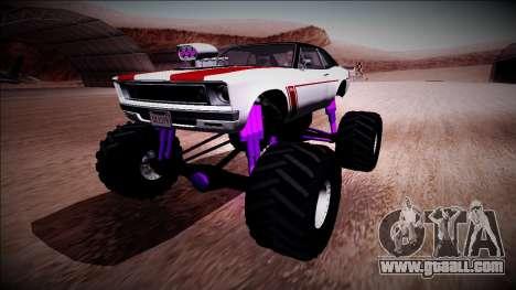 GTA 5 Declasse Tampa Monster Truck for GTA San Andreas