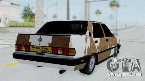 Tofas Dogan Modified for GTA San Andreas left view