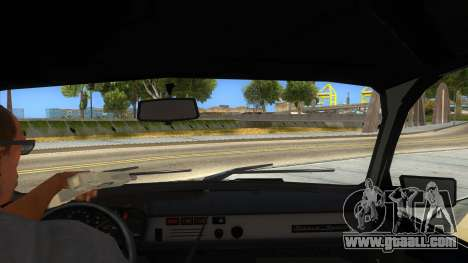 Dacia 1310 Tunata for GTA San Andreas inner view