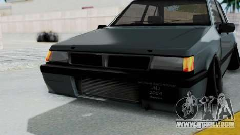 Proton Iswara Stance Build for GTA San Andreas upper view