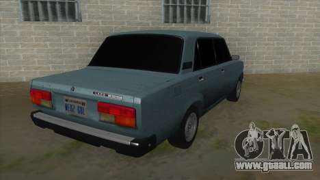 VAZ 2107 v1 for GTA San Andreas right view