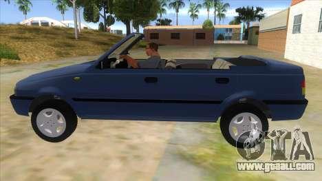 Dacia SuperNova for GTA San Andreas left view