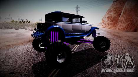 GTA 5 Albany Roosevelt Monster Truck for GTA San Andreas right view