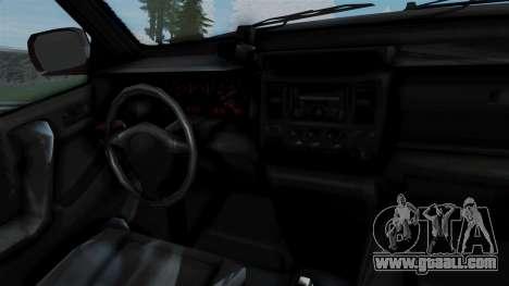GTA 5 Albany Cavalcade v1 for GTA San Andreas back left view