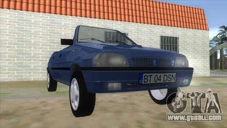Dacia SuperNova for GTA San Andreas back view