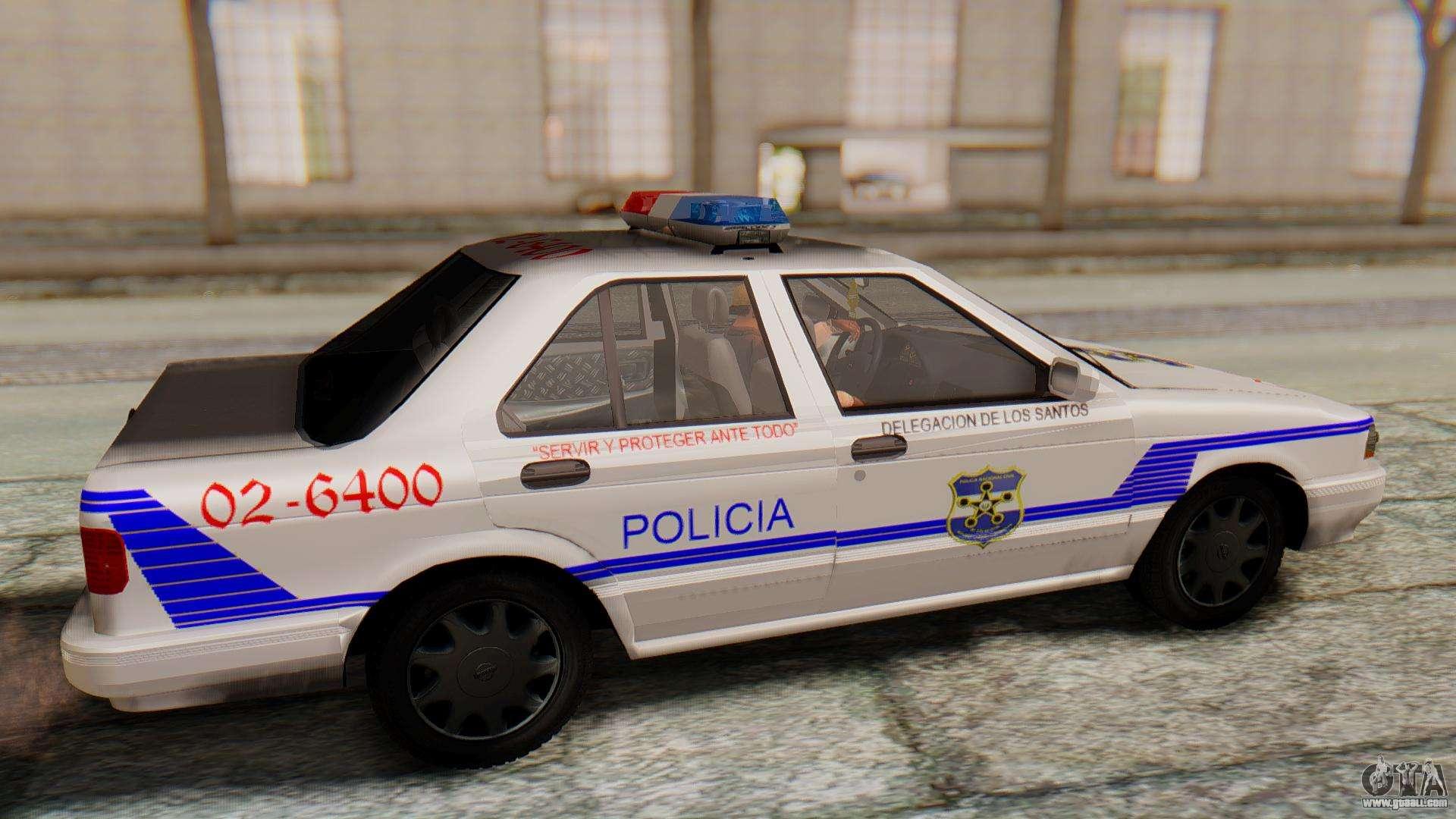 Nissan Sentra B13 2004 Patrol with a Salvadoran v1.0 for ...