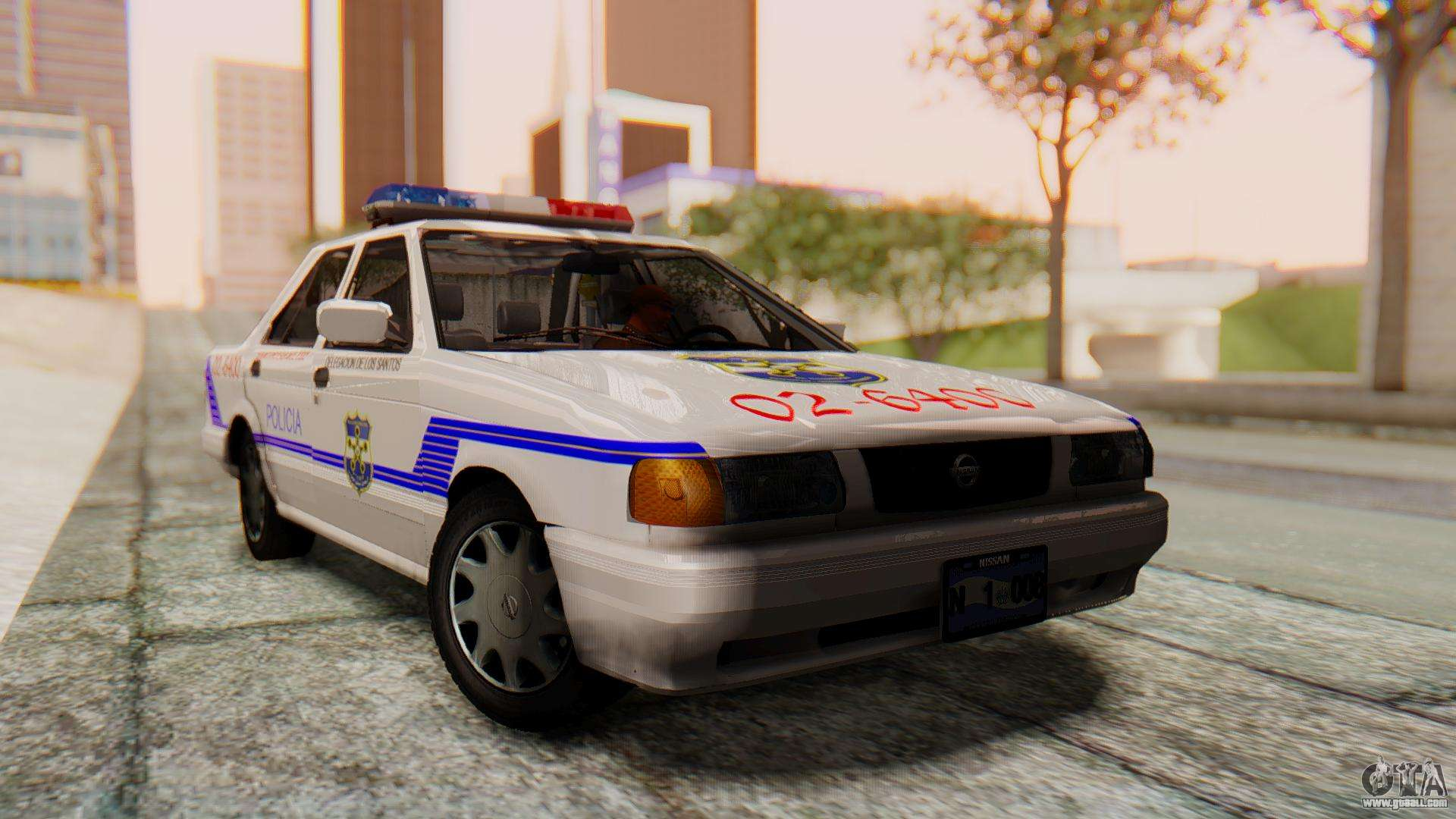 Nissan Sentra B13 2004 Patrol with a Salvadoran v1.0 for ...