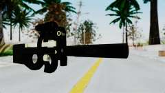 P90 Gold Silenced for GTA San Andreas