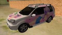 2005 Nissan X-Trail 2.5 XT Tomori Nao Itasha for GTA San Andreas