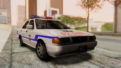 Nissan Sentra B13 2004 Patrol with a Salvadoran v1.0 for GTA San Andreas