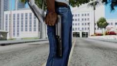 Vice City Beta Silver Colt 1911 for GTA San Andreas