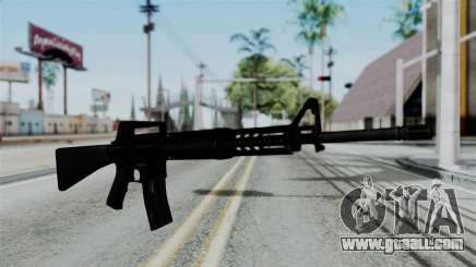 No More Room in Hell - M16A4 Carryhandle for GTA San Andreas