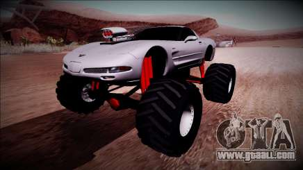 Chevrolet Corvette C5 Monster Truck for GTA San Andreas