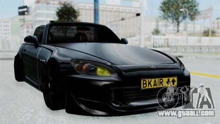 Honda S2000 Berlin Black for GTA San Andreas
