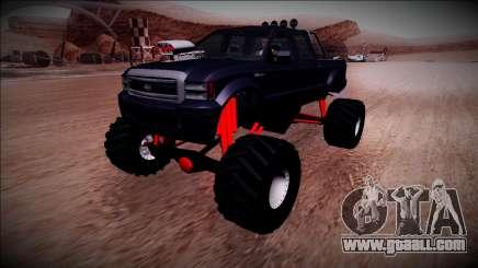 GTA 5 Vapid Sadler Monster Truck for GTA San Andreas
