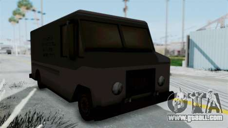 Boxville from Manhunt for GTA San Andreas right view