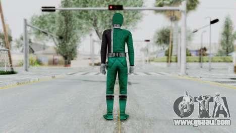 Power Rangers S.P.D - Green for GTA San Andreas third screenshot