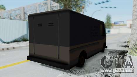 Boxville from Manhunt for GTA San Andreas back left view
