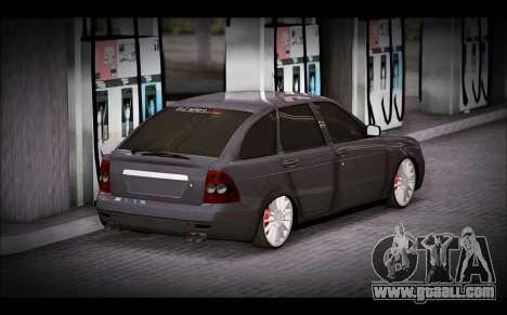 Lada Priora Bpan Version for GTA San Andreas left view