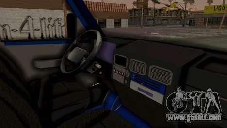 Zastava Rival Ice Cream Truck for GTA San Andreas right view