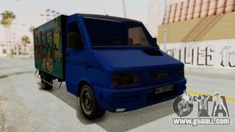 Zastava Rival Ice Cream Truck for GTA San Andreas