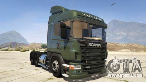 Scania R440 for GTA 5