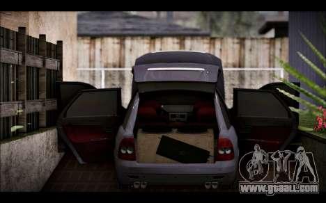 Lada Priora Bpan Version for GTA San Andreas back view