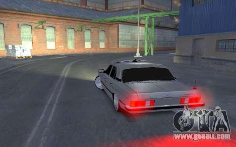 GAZ 3102 for GTA 4 back left view